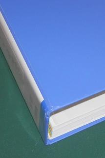ファイル製本。