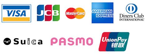 印刷会社クレジットカード決済可能な種類